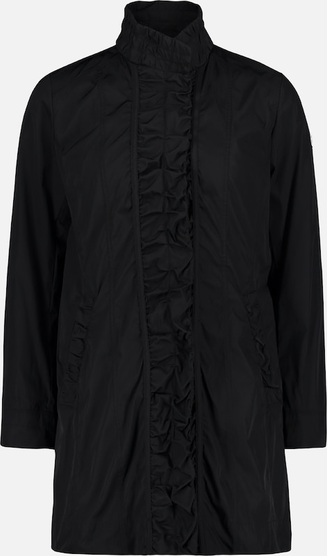 Betty Barclay Outdoorjacke in schwarz: Frontalansicht