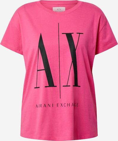 ARMANI EXCHANGE Shirt '8NYTCX' in pink / schwarz, Produktansicht