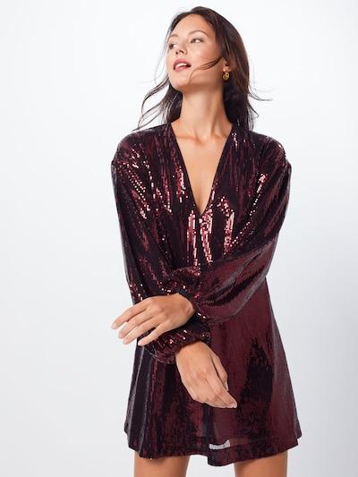 IVYREVEL Kleid 'FLOWY SEQUIN' in burgunder, Modelansicht