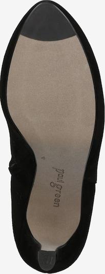 Kulkšnis dengiantys batai iš Paul Green , spalva - juoda: Vaizdas iš apačios
