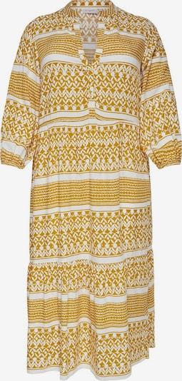 ONLY Carmakoma Košeľové šaty 'CARMARRAKESH' - žlté / biela, Produkt
