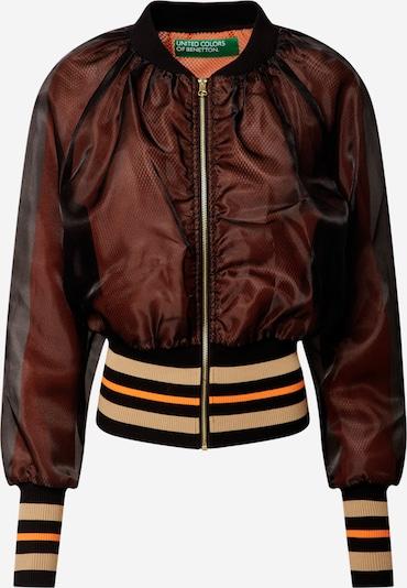 UNITED COLORS OF BENETTON Prechodná bunda - telová / oranžová / tmavooranžová / čierna, Produkt
