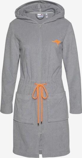 KangaROOS Damenbademantel »Kira« in grau, Produktansicht