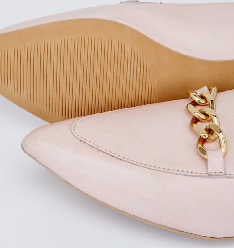 Bianco Elegante Ketten Halbschuhe Günstige und langlebige Schuhe