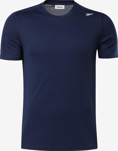 REEBOK T-Shirt in dunkelblau, Produktansicht