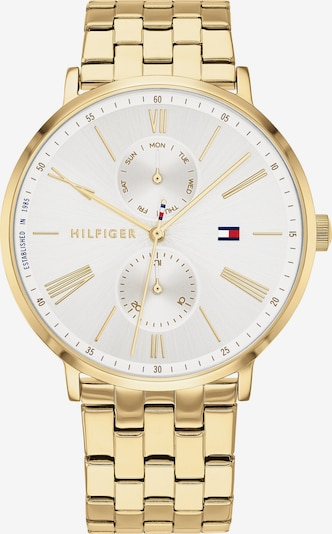 TOMMY HILFIGER Analoguhr in gold, Produktansicht