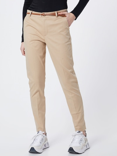 b.young Chino 'Days' in de kleur Beige, Modelweergave