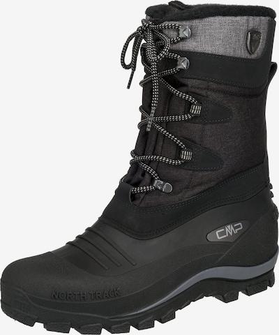 CMP Stiefel 'Nietos' in graumeliert / schwarz, Produktansicht