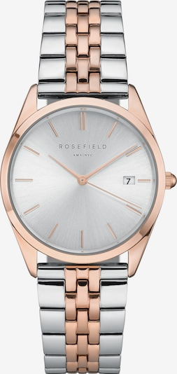 ROSEFIELD Uhr in rosegold / silber, Produktansicht