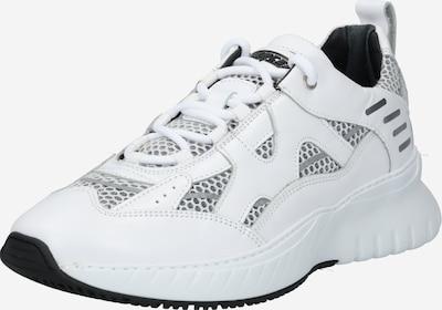 Mercer Amsterdam Sneaker 'JUPITER' in silber / weiß, Produktansicht