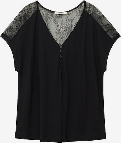 VIOLETA by Mango T-shirt 'Doti' in schwarz, Produktansicht
