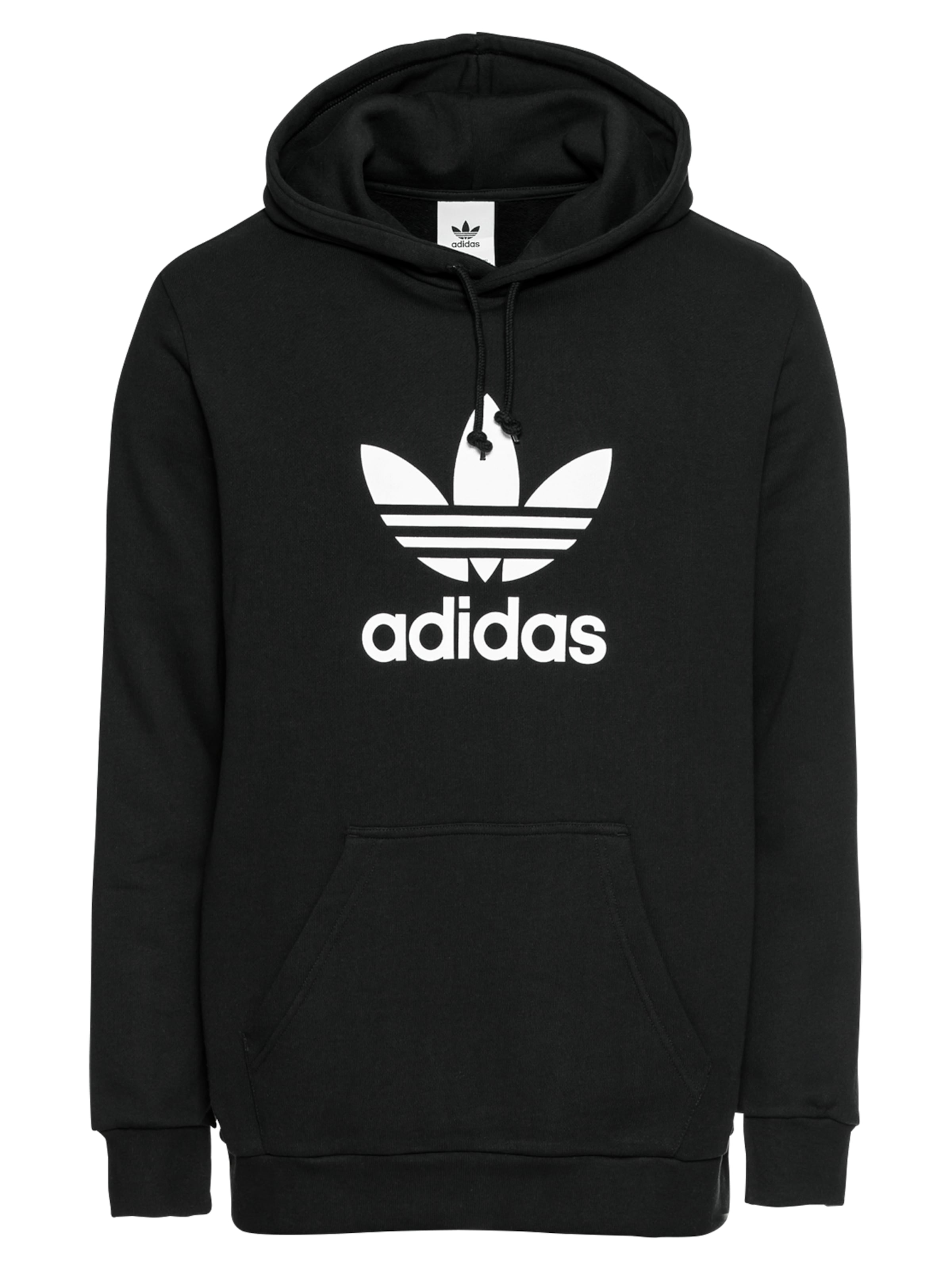 Originals En NoirBlanc Sweat shirt Adidas 'trefoil' VpqMLSzUG