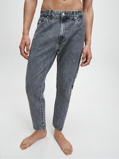 Calvin Klein Jeans Jeans in de kleur Grey denim: Vooraanzicht