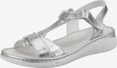 ANDREA CONTI Sandalen in silber, Produktansicht