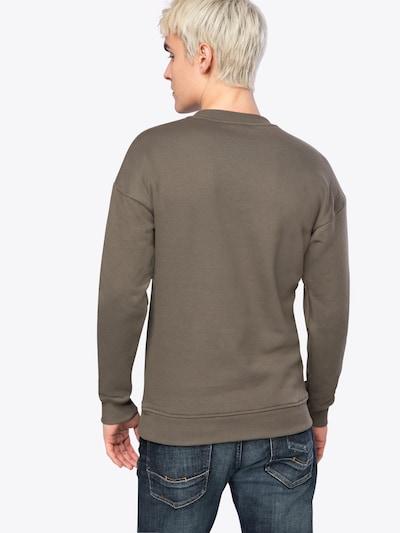 Urban Classics Sweatpullover 'Basic Crewneck' in khaki: Rückansicht