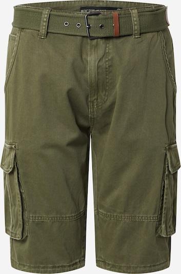 INDICODE JEANS Shorts  'Monroe' in dunkelgrün, Produktansicht