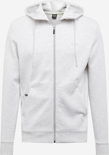 BOSS ATHLEISURE Hoodie 'Saggy X' in grau: Frontalansicht