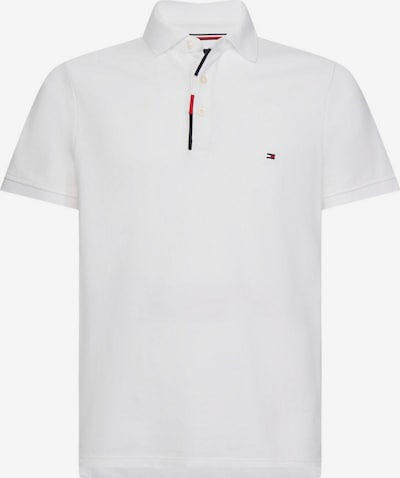 TOMMY HILFIGER Poloshirt in weiß: Frontalansicht