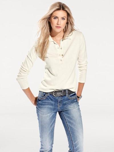 heine Sweater in Cream: Frontal view