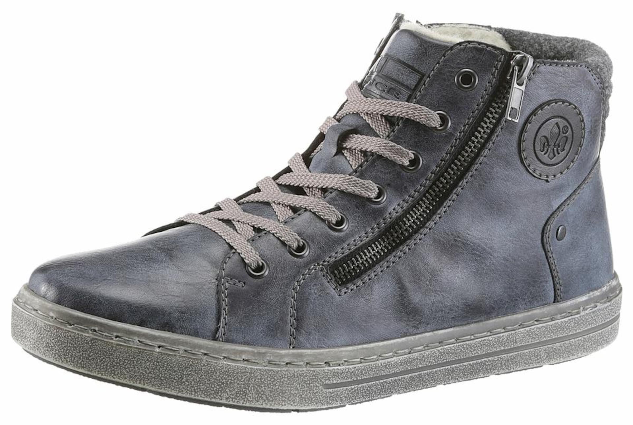 RIEKER Sneakers Verschleißfeste billige Schuhe Hohe Qualität