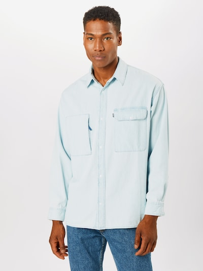Levi's Made & Crafted Hemd 'Mountain' in hellblau: Frontalansicht