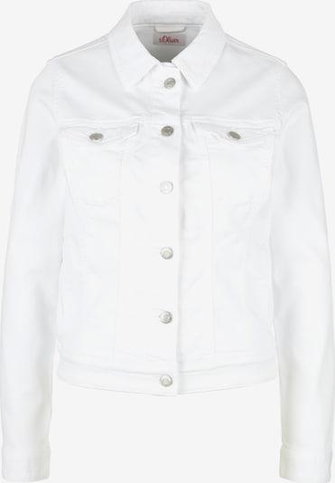 s.Oliver Jacke in weiß, Produktansicht