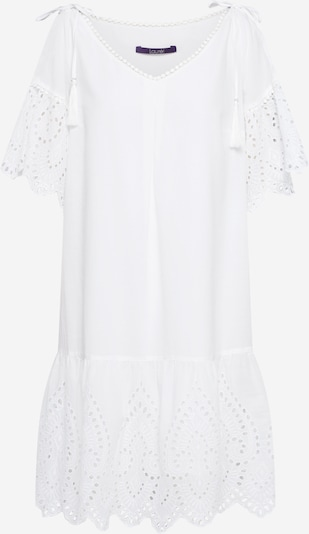 LAUREL Robe d'été en blanc, Vue avec produit