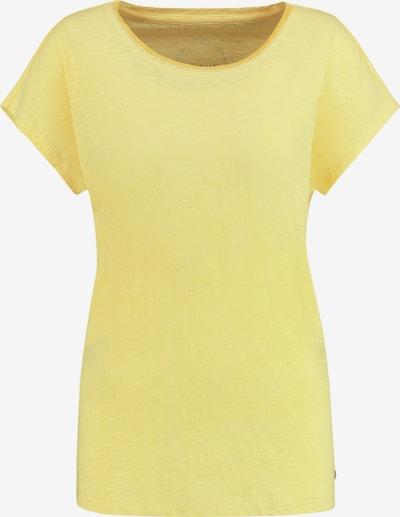 TAIFUN T-Shirt Kurzarm Rundhals 1/2 Arm Shirt aus organic cotton in gelb, Produktansicht