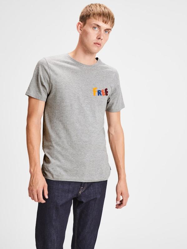 Jones shirt amp; Graumeliert T Jack xaBRYw5qW