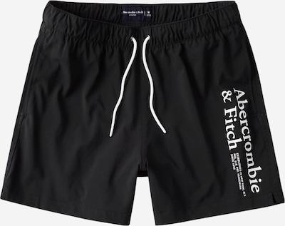 Abercrombie & Fitch Zwemshorts in de kleur Zwart / Wit, Productweergave