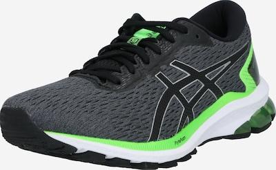 ASICS Laufschuh 'GT-1000 9' in dunkelgrau / neongrün / schwarz / weiß, Produktansicht