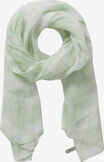 Cartoon Sjaal in de kleur Lichtgroen / Wit, Productweergave