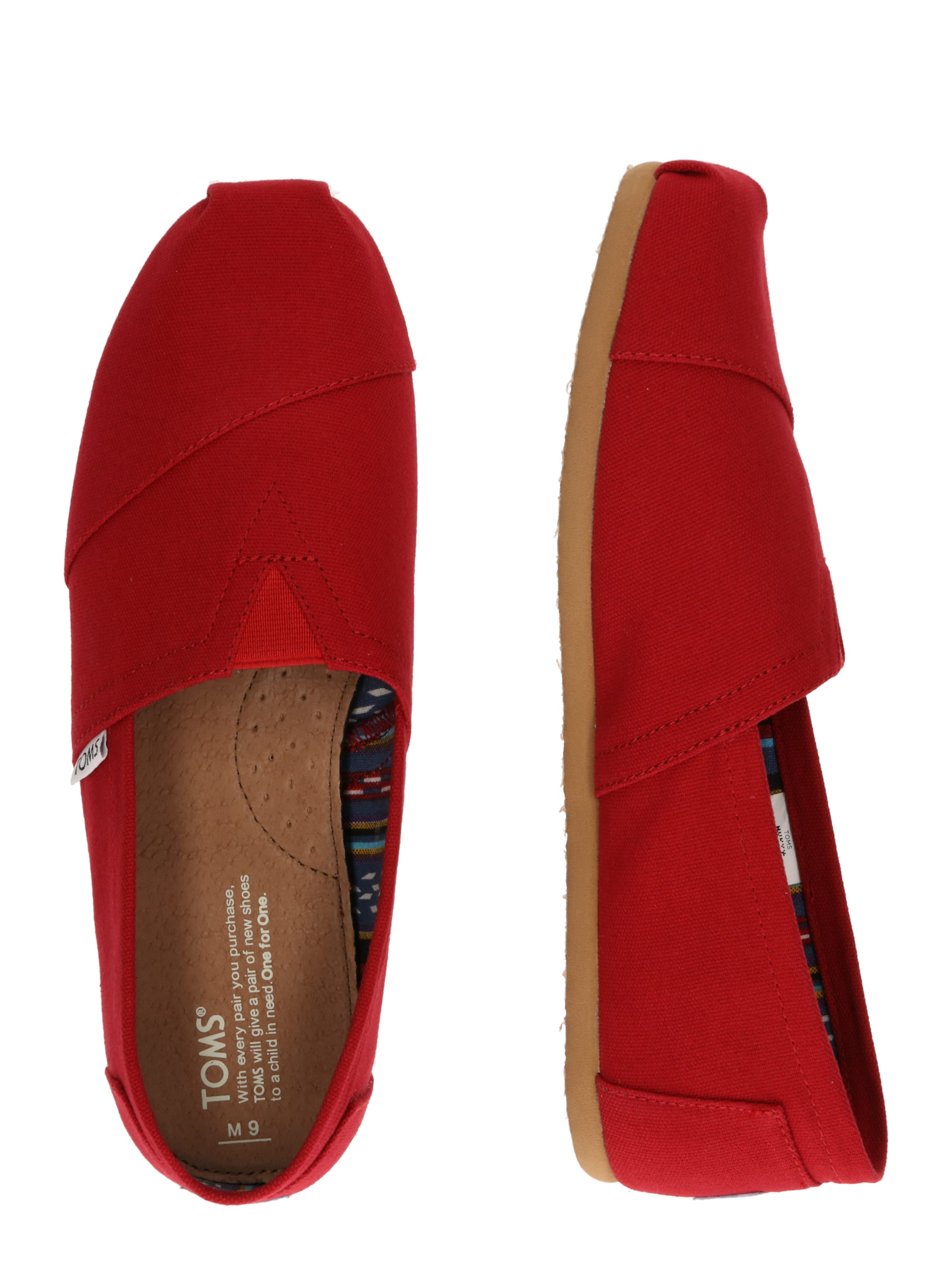 'alpargata' 'alpargata' Toms Slipper Toms Rot Toms Slipper In Slipper In Rot drWCoBex