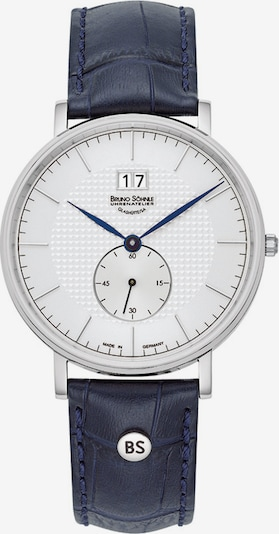 Bruno Söhnle Uhr in kobaltblau / silber, Produktansicht