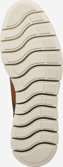 Sniego batai 'JFWPEDRO LEATHER BOOT' iš JACK & JONES , spalva - ruda (konjako): Vaizdas iš apačios