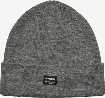 JACK & JONES Beanie 'DNA' in graumeliert, Produktansicht