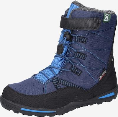Kamik Boots en bleu roi / bleu foncé / noir, Vue avec produit