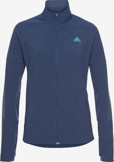 ADIDAS PERFORMANCE Laufjacke 'Rise Up N Run' in blau: Frontalansicht
