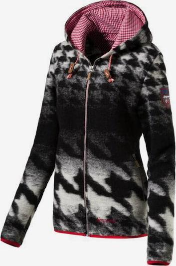 Almgwand Jacke ' Walkersdorf-5 ' in schwarz, Produktansicht