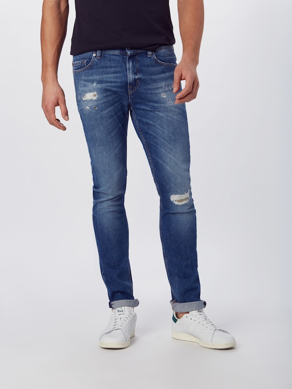 7 for all mankind Jeans 'RONNIE' in blau, Modelansicht