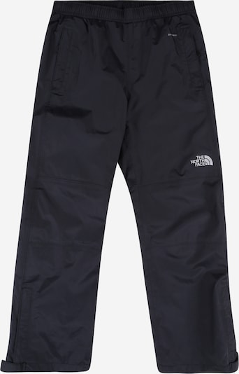 THE NORTH FACE Sport-Hose in schwarzmeliert / weiß: Frontalansicht