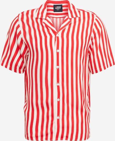 Denim Project Overhemd 'CUBA' in de kleur Rood / Wit, Productweergave