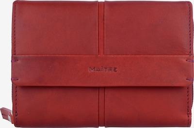 Maître Geldbörse 'Birkenfeld' in rot, Produktansicht