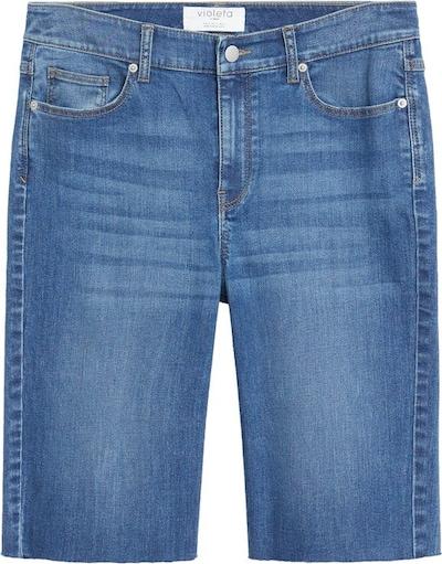 VIOLETA by Mango Jeansy w kolorze niebieski denimm, Podgląd produktu
