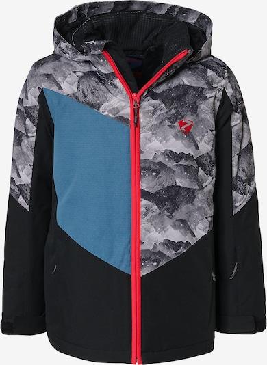 ZIENER Skijacke 'Avan' in grau / schwarz, Produktansicht