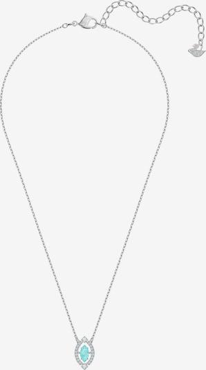Swarovski Halsband 'Sparkling' i turkos / silver, Produktvy
