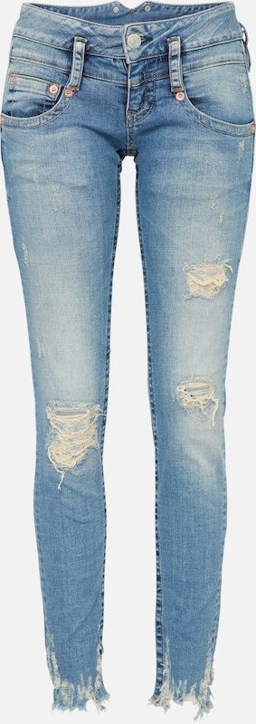 Herrlicher Denim Blauw 'powerstretch' In Jeans Y6gvb7fIym