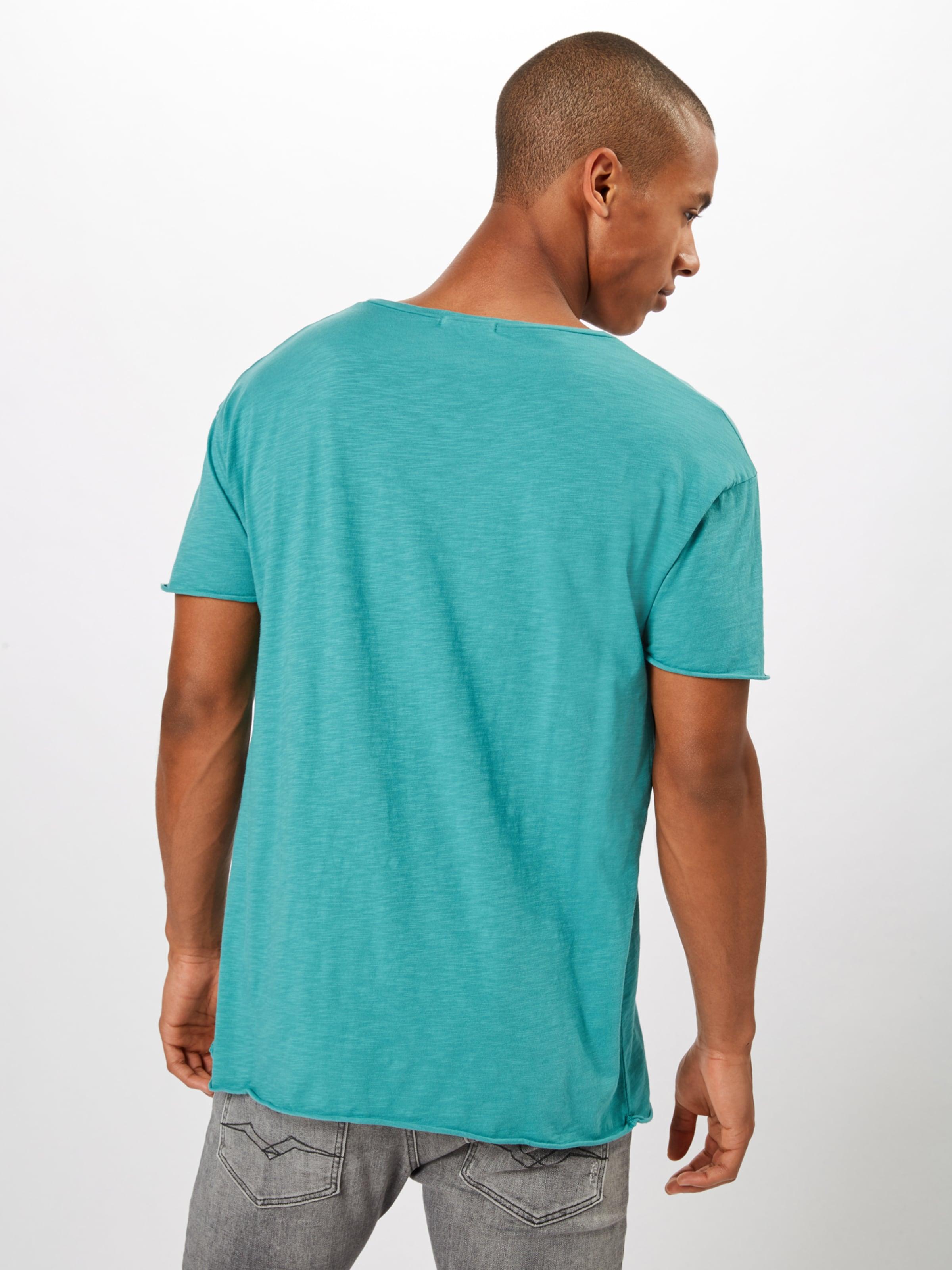 Jeans Co Slub' 'roger T Nudie shirt In Türkis 67bYfgy