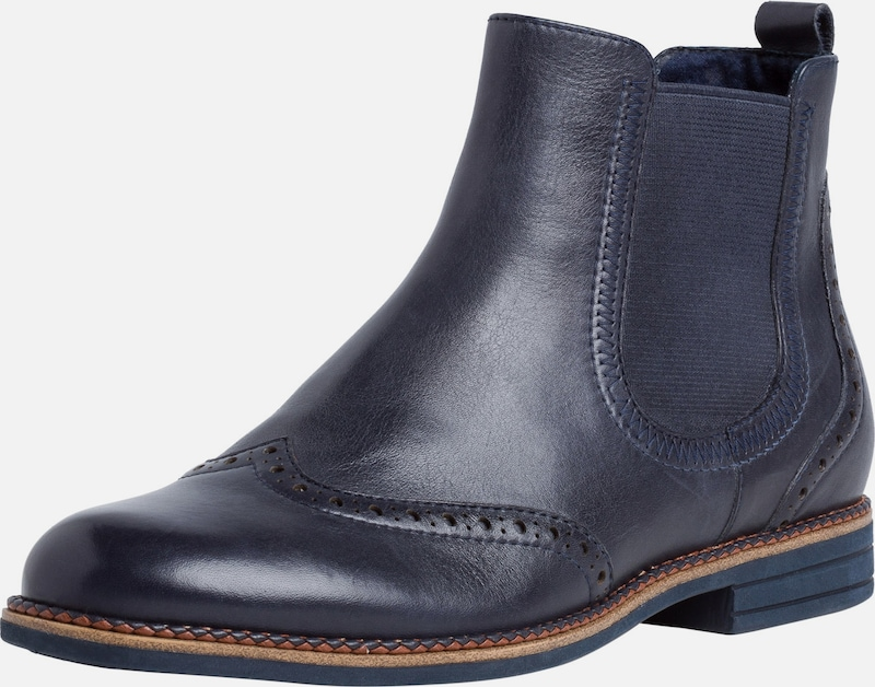 TAMARIS Chelsea Boot in navy | ABOUT YOU
