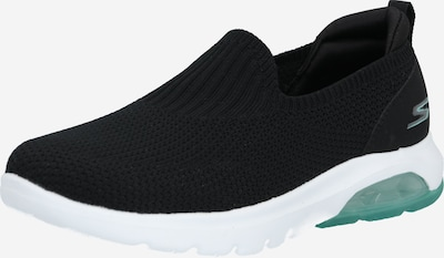 SKECHERS Slip-on 'Go Walk Air' in de kleur Mintgroen / Zwart, Productweergave